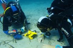 Sakupljanje sedimenta radi analize mikroplastike